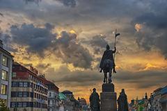 Обучение в центре Праги